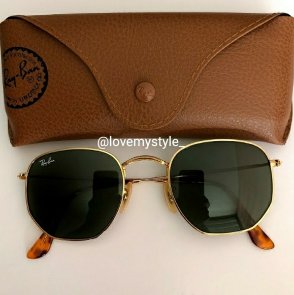 7d3acec81d 🎄SALE! 🆕 AUTHENTIC RAY BAN ROUND HEXAGONAL 3548